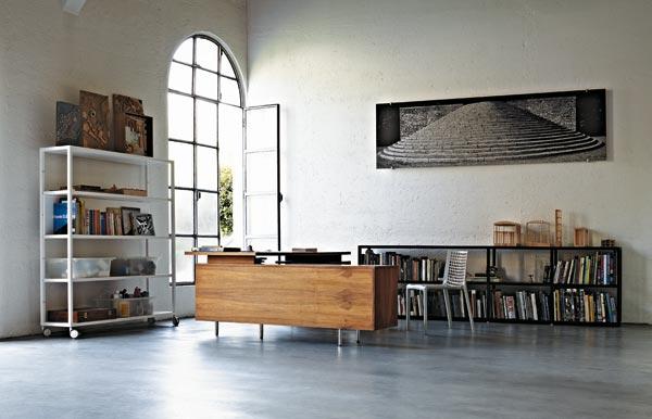 Schienali Singoli Libreria Almond : Libreria helsinki desalto